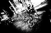 Surréaliste (juste) noir et blanc effet avec Lightroom 2.0