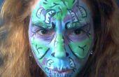 Cool la peinture de visage de monstre