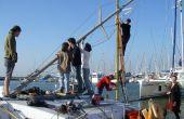 Yacht gratuit chapitre 13 : Soulever le nouveau mât !