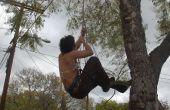 Comment grimper sur un arbre (avec prusiks!)