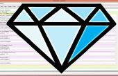 Diamant de caractères