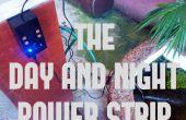 Jour et nuit la multiprise!: prise de courant sensible A lumière