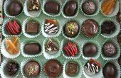 Maison assortis boîte de bonbons