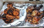 Piquante au poulet grillé et ignames