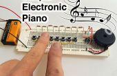Piano électronique simple