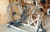 Stand de la fourche avant pour vélo rouleaux