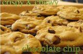 Biscuits aux brisures de chocolat croustillant & moelleux