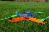 Laser Cut MultiWii base quadcopter