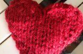 Comment tricoter un coeur Saint-Valentin