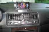 IPod Touch/iPhone mount pour VW Golf/GTI/Jetta