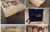 Facile construire Pipe Box WITH MUSIC + PYROGRAVURE