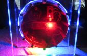 Moderne RGB LED Clock de Craig