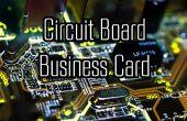 Concevez votre propre carte de visite de PCB