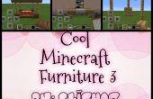 Laisser refroidir 4 meubles Minecraft