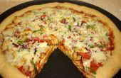 Pizza au poulet Pan