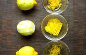Comment zester un citron