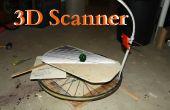 Faire un Scanner 3D à partir d'un téléphone cellulaire et la roue de bicyclette