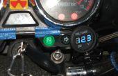 Voltmètre de moto