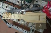 Ukulele de poche - fait maison ukulélé Sopranino de morceau de bois