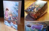 Vieilles boîtes de carte cadeau