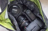 S'organiser avec une entrée personnalisée pas cher pour votre sac photo