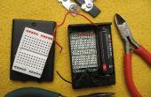 LiFePO4 (3, 2V) projet, au sein d'un 3 x support de piles AA !