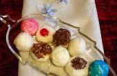 Boules de neige noix de coco cerise