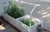 Gites jardin arrosage - à l'aide de recyclé l'eau provenant d'un climatiseur