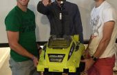 Auto Driveing tondeuse à gazon télécommande autonome tondeuse à gazon à l'aide de RaspberryPi