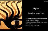 Le cordon d'alimentation de HYDRA