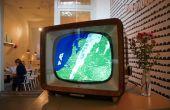 Ombrovision : vintage tv transformé en alarme de pluie