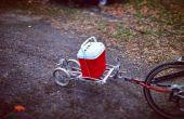 Vélo remorque bricolage bateau remorque balise le long Trailer Buddy Trailer Multi Purpose