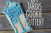 TARDIS emporte-pièce bricolage--et biscuits au sucre !