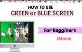 Un guide pour utiliser iMovie Software + comment utiliser vert/bleu écran tutoriel pour rendre votre look vidéos mieux