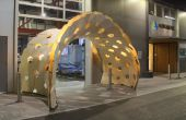 Conception et Fabrication d'un pavillon de flexion Active