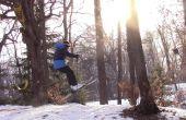 Comment Ollie sur Skis