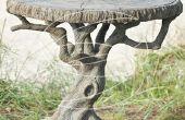 Tableau d'arbre en béton