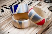 Geo peint des bracelets de Kollabora en bois