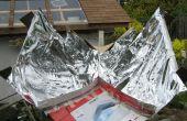 Cuiseur solaire de Kyoto creux imite un plat parabolique sans coupures de mille !
