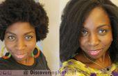 Comment à Saran Wrap Set Roller à lisser les cheveux naturels