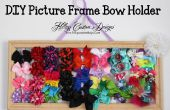 BRICOLAGE Photo Frame Bow Holder