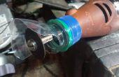 Improvisé protecteur pour outil rotatif
