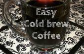 Café infusé de froid facile