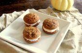 Pumpkin Spice youpi avec givrage de fromage à la crème de cannelle
