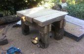 Grande table de chêne