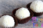 Boules de noix de coco fait maison Raffaello