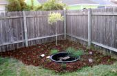 CRÉER A petit SOLAR POWERED étang & jardin pour environ $100