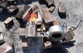 Brûleur à mazout de déchets