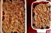 Fraises rhubarbe Double Crisp