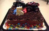 Monster Truck gâteau raccourci